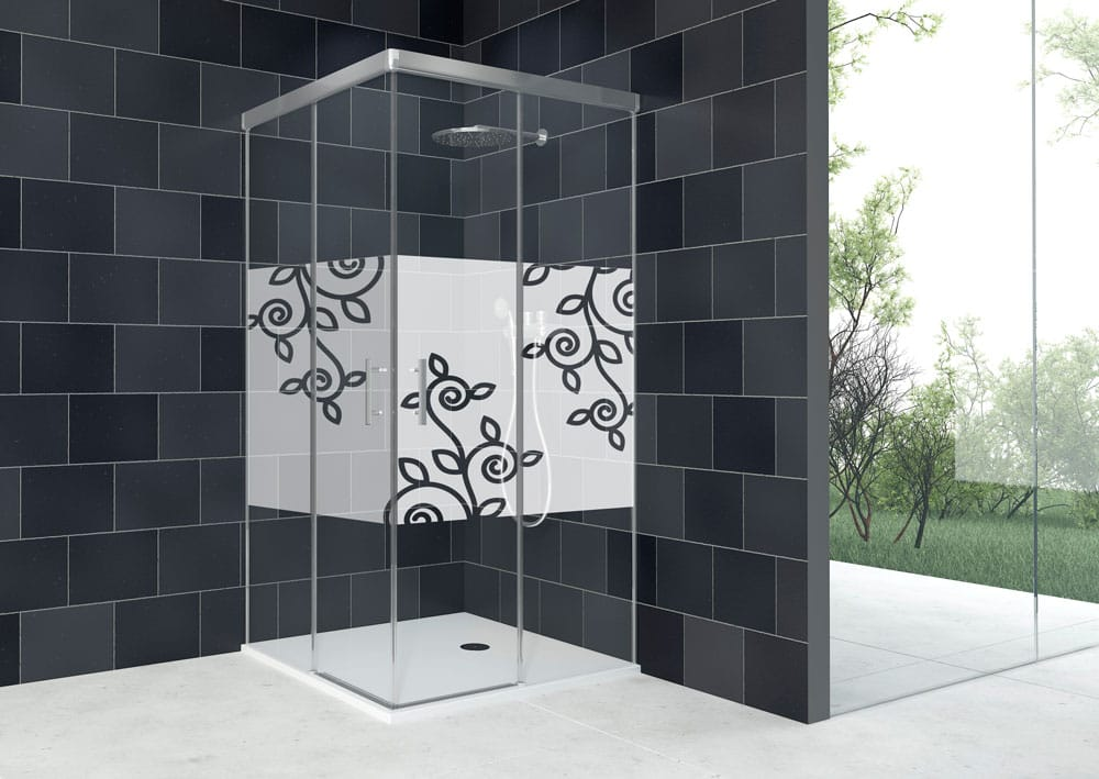 Acquaban mampara ducha modelo 10-5 plata