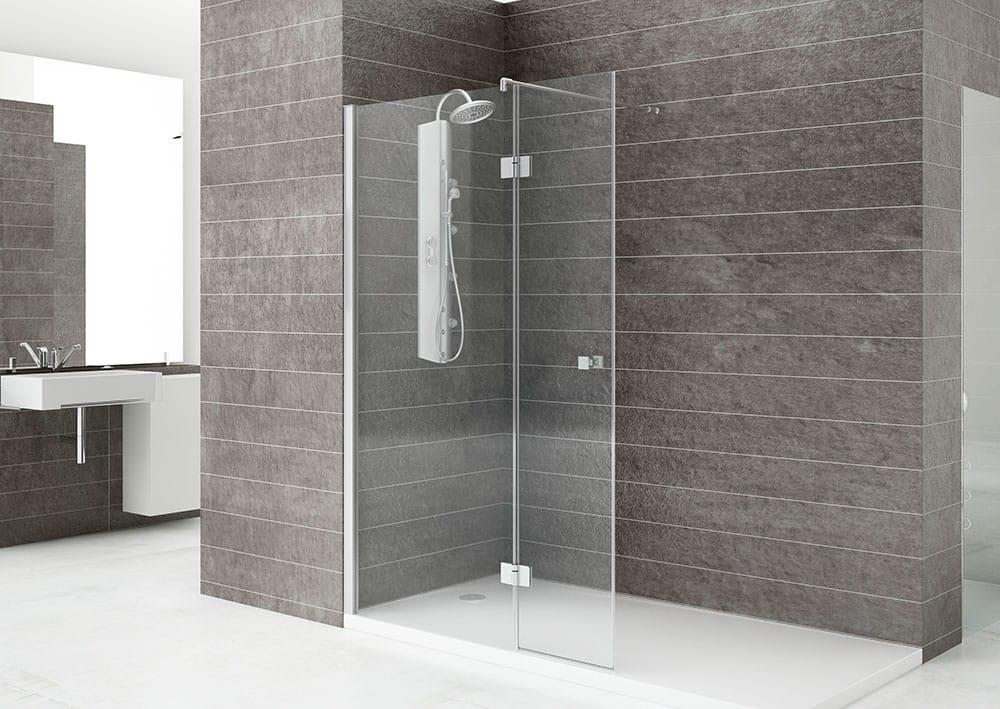 Acquaban mampara ducha modelo 50-5 cromo