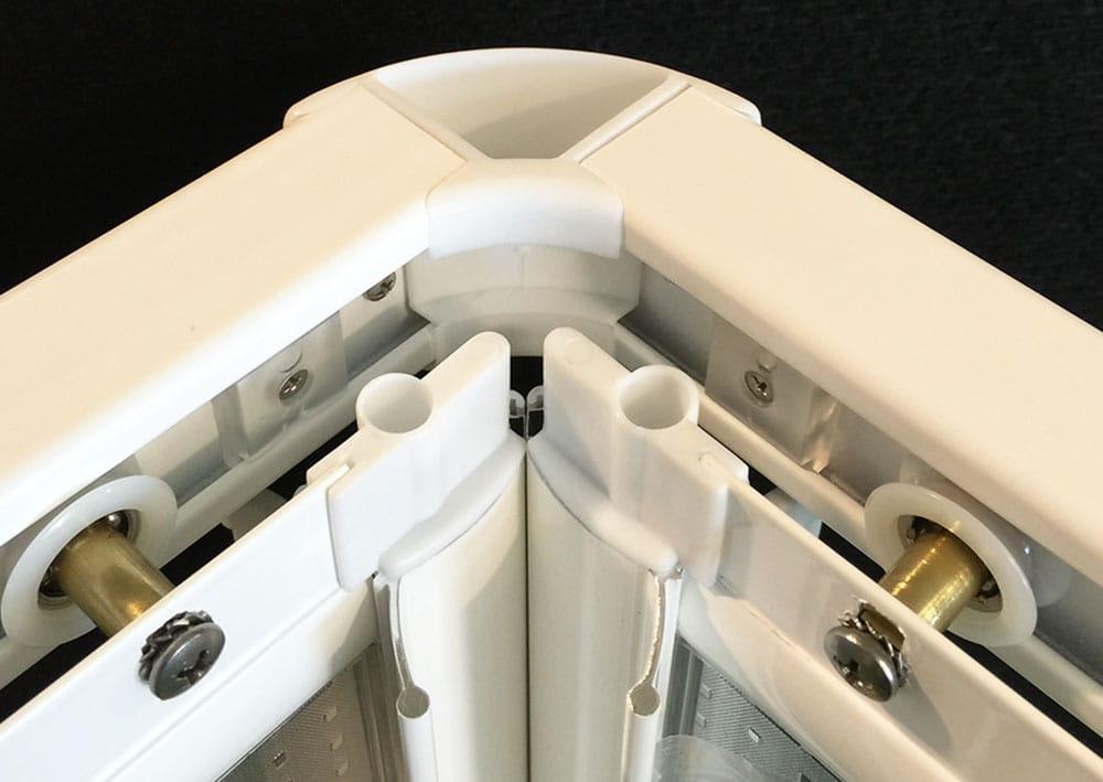 Terminación y ajuste del angular, interior